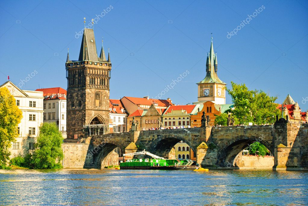 Old downtown of Prague