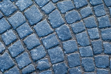 Old European pavement