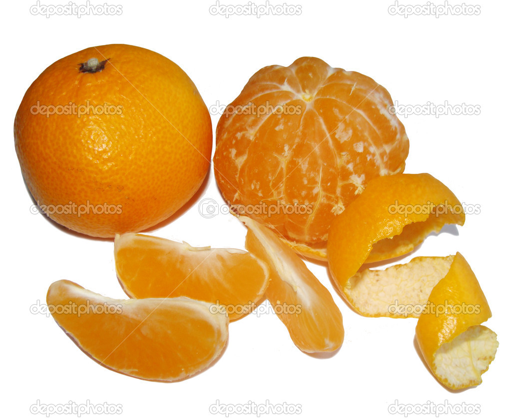Mandarine orange tropic fruit