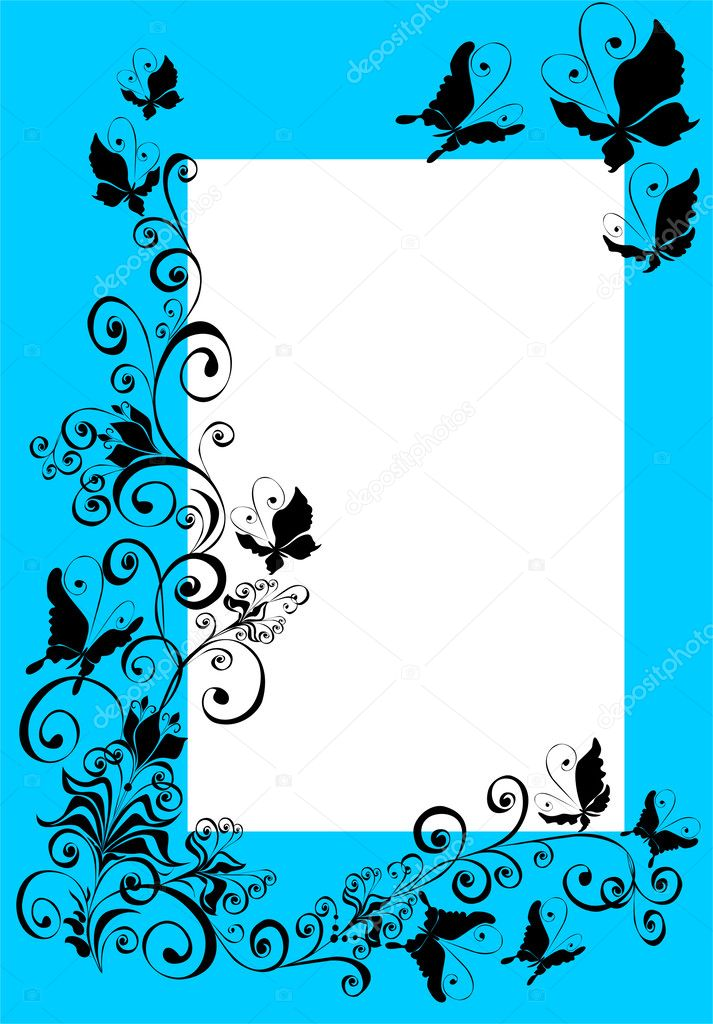 Abstract Framework with butterfly