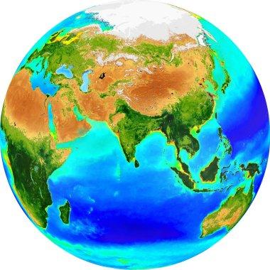 Globe eurasia