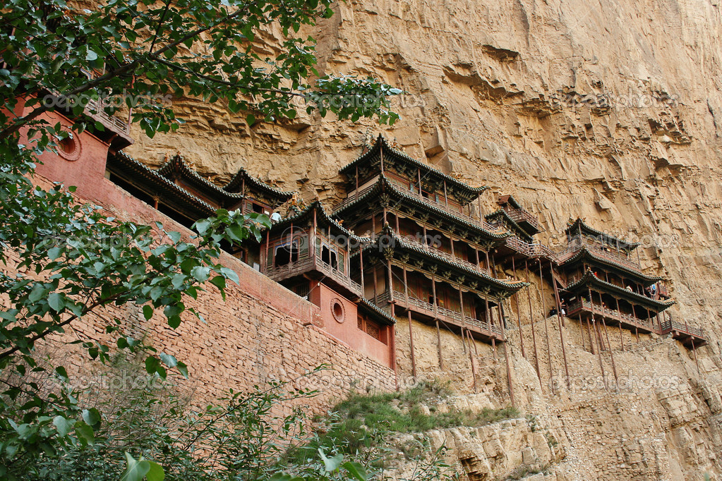 Hanging temple, china
