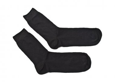 Black man's socks