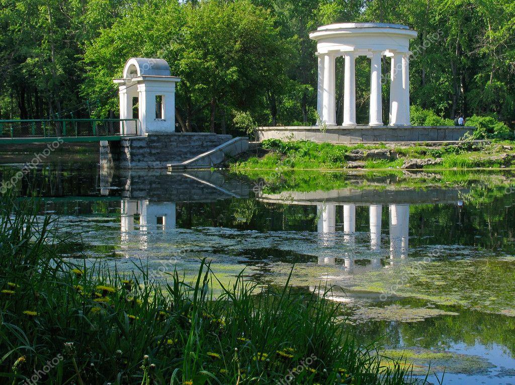 Rotunda on the pond