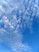 Fleecy clouds