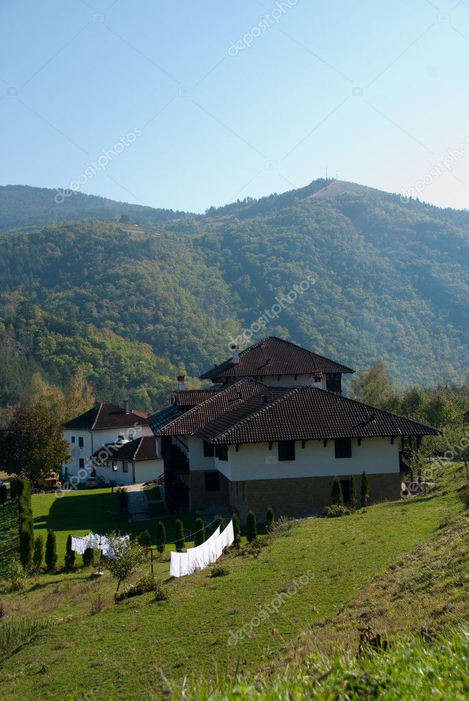 The house in mountains  Stock Photo #1893118