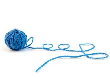 Ball of knitting yarn