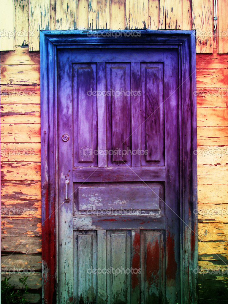 Vintage Door U2014 Photo By Vkraskouski