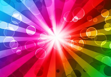 Colorful night party background