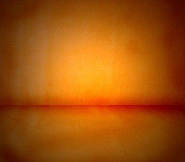 Noisy spice orange background