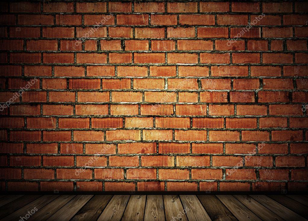 Vintage brick wall background