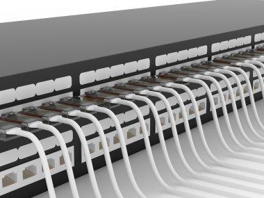 Active network equipment. Router