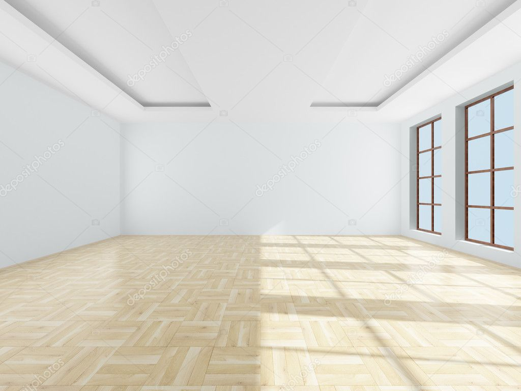Empty room 3d image stock photo isergey 1304648 for 3d room design website