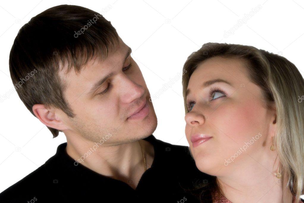 Verliebten Mann Und Die Frau Stockfoto Isergey 2138933