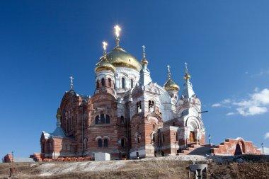 Orthodox missionary man monastery