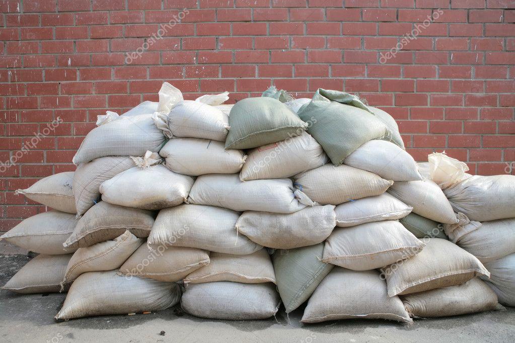 Background, pervaded sacks