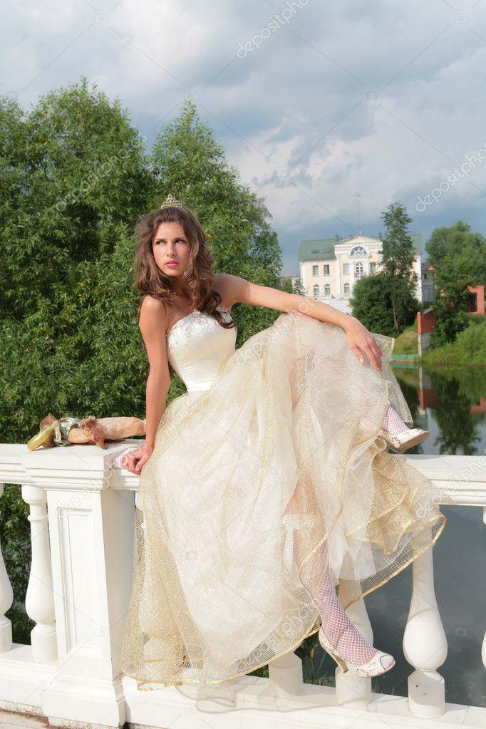 echte Prinzessin — Stockfoto © Astroid #1414307