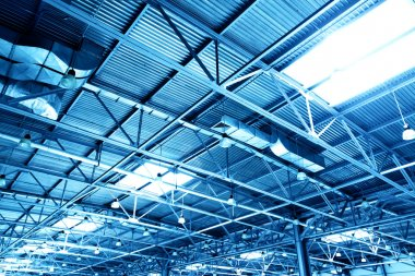 Ceiling of storehouse
