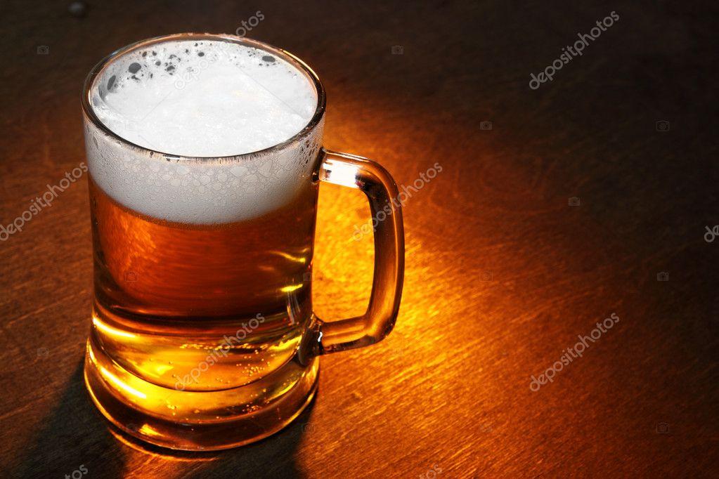 Кружка пива — стоковое фото