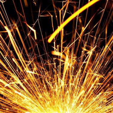 Blazing sparks
