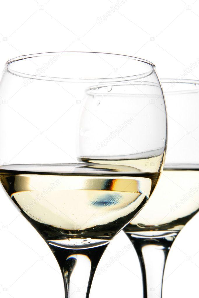 фотографируем стеклянную посуду на белом фоне театральных кулуарах