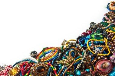 Bright jewelry background