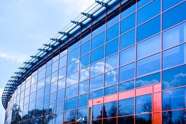 New business center windows