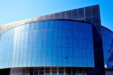 Modern blue office