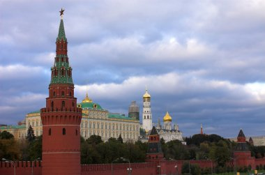 Moscow Kremlin wall, Russia