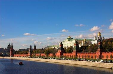 Kremlin wall and Moskva river