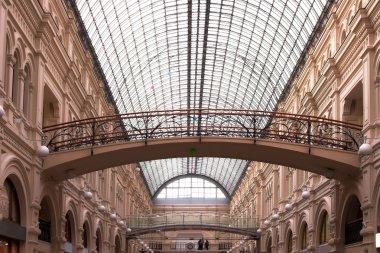 High ceiling,bridges and interior