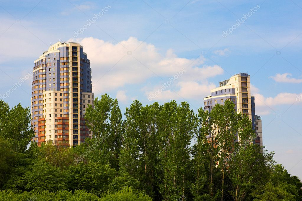 Moscow buildings
