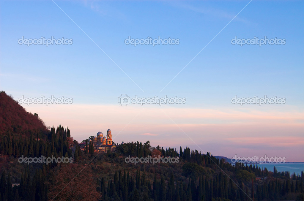 Christian monastery New Athos