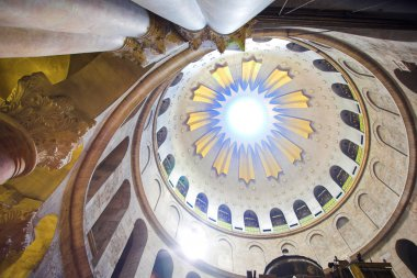 Dome in the church of the Holy Sepulchre