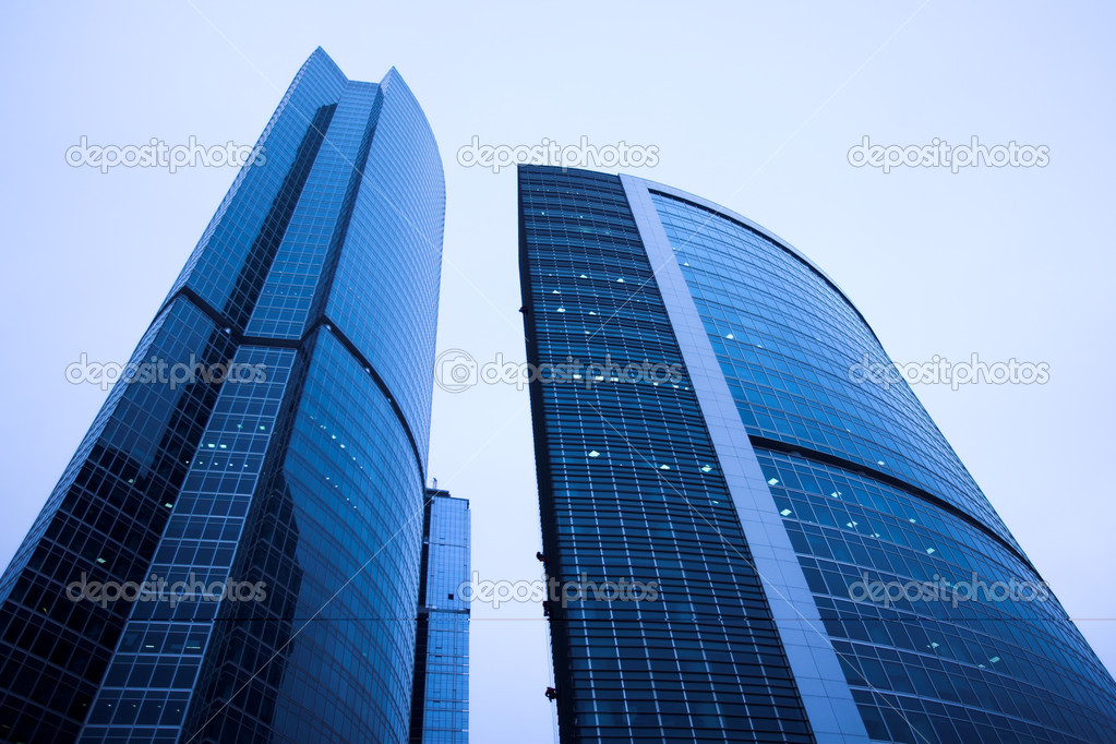 New skyscrapers business centre