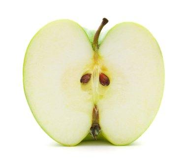 Half of apple