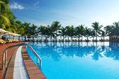 Tropischen Pool