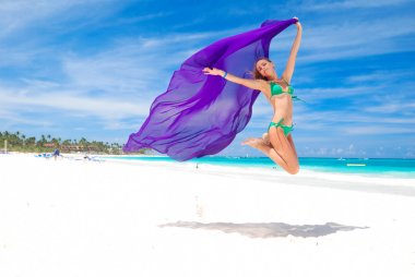Jump with sarong