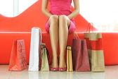 žena nakupování