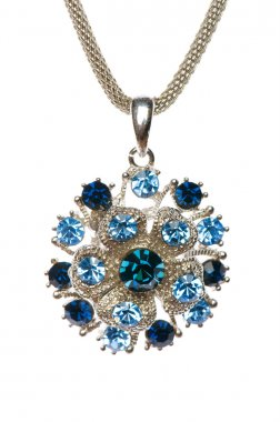 Pendant on chain isolated