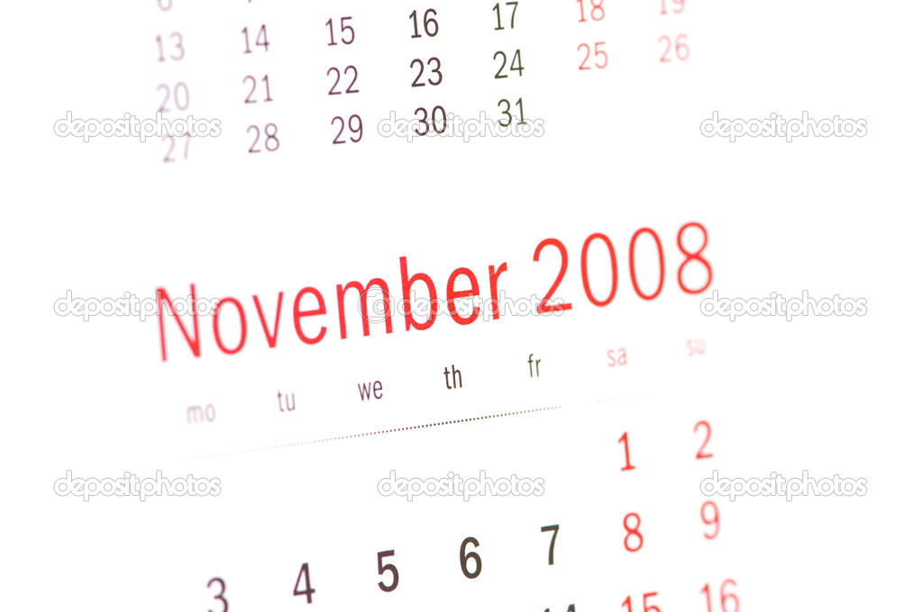 Close Up Of November 2008 Stock Photo C Elnur 1976081