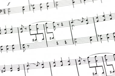 Musical concept - Music sheet
