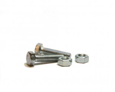 Two nead bolt and two screw-nut