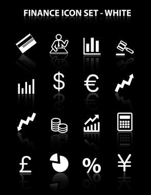 Reflect Finance Icon Set (White)