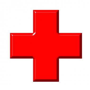 3D Red Cross
