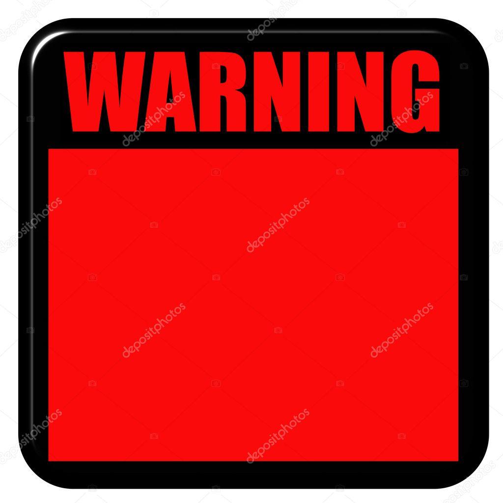 3d Warning Sign Stock Photo 169 Georgios 1394881