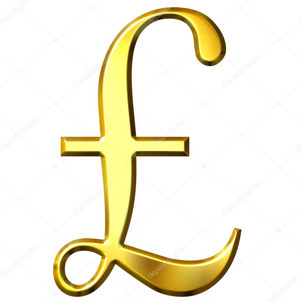 Картинки по запросу британский фунт символ