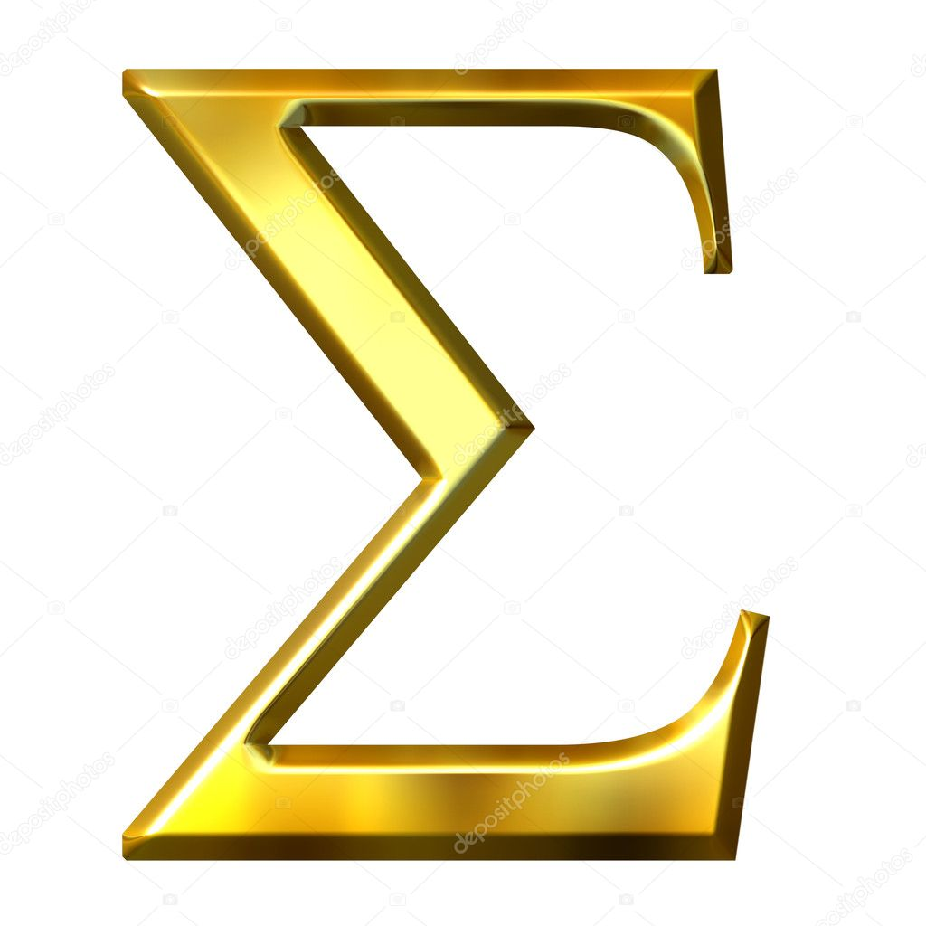 how to get sigma 3 symbol in excel