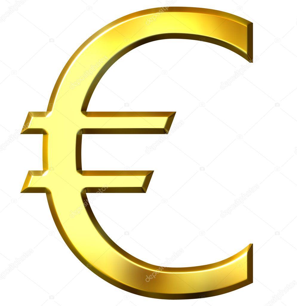 S mbolo do euro dourado 3d fotografias de stock - Stock piastrelle 2 euro ...