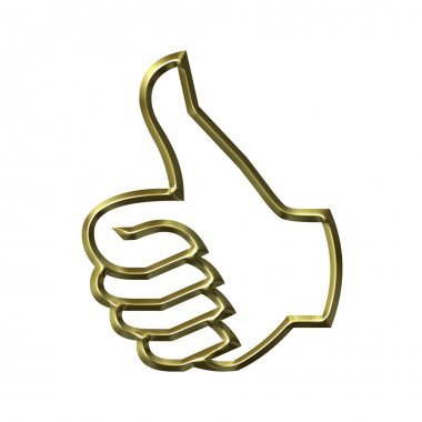 Thumbs Up Success Hand Sign